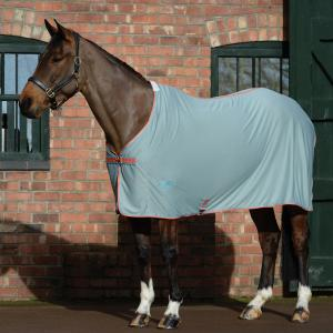 WeatherBeeta Airlite Cooler Standard Neck Rug Silver/Orange/Blue