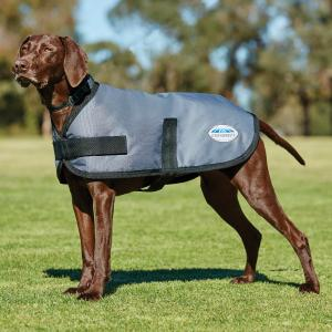 WeatherBeeta ComFiTec Classic 100g Lightweight Dog Coat Dark Grey