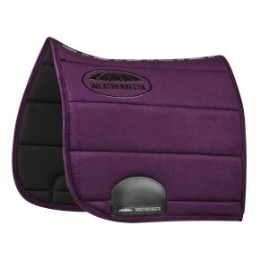 WeatherBeeta Elite Dressage Saddle Pad Purple Penant