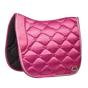 WeatherBeeta Regal Luxe Dressage Saddle Pad Rose Queen