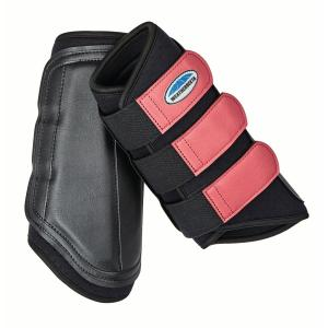 WeatherBeeta Single Lock Brushing Boots Black/Pink