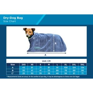 WeatherBeeta Dry Dog Bag Navy