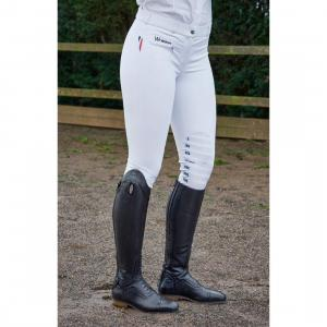 Whitaker Ladies Dortmund Performance Breeches White