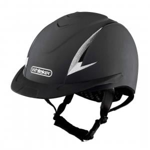 Whitaker New Rider Generation Helmet Black Silver