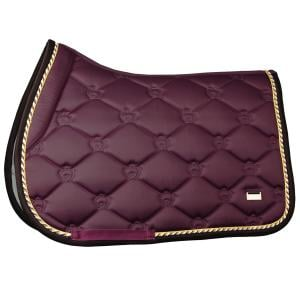 PS of Sweden Jump Saddle Pad Wine