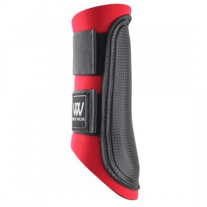 Woof Wear Club Brushing Boots Red