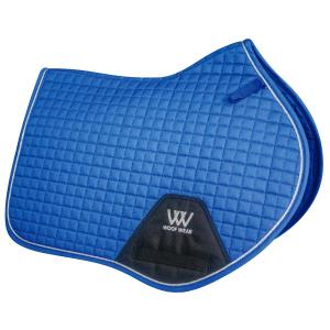 Woof Wear Contour Close Contact Saddle Pad Electric Blue