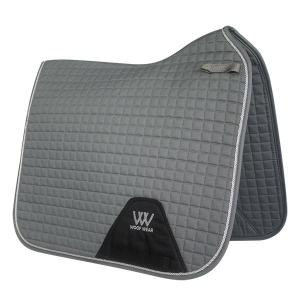 Woof Wear Contour Dressage Saddle Pad Brushed Steel