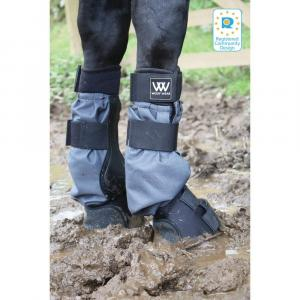 Woof Wear Mud Fever Turnout Boots Black Grey