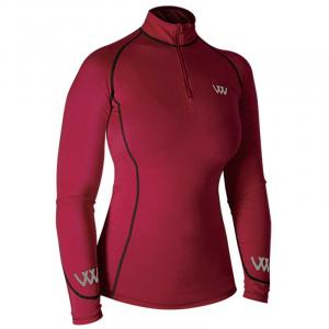 Woof Wear Performance Riding Shirt Shiraz