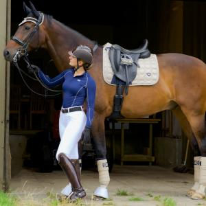 Woof Wear Vision Dressage Saddle Pad Champagne