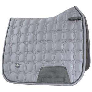 Woof Wear Vision Dressage Saddle Pad Brushed Steel