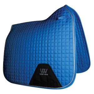 Woof Wear Contour Dressage Saddle Pad Electric Blue