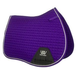 Woof Wear Contour GP Saddle Pad Ultra Violet