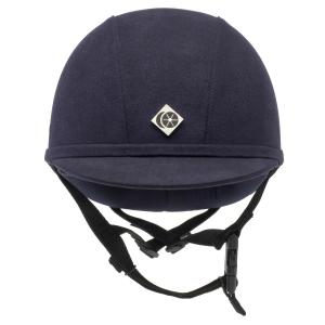 Charles Owen YR8 Round Riding Hat Navy/Navy