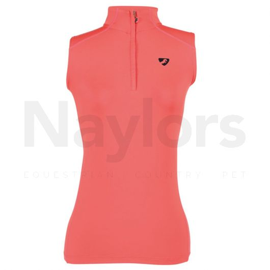Aubrion Ladies Westbourne Sleeveless Baselayer Coral