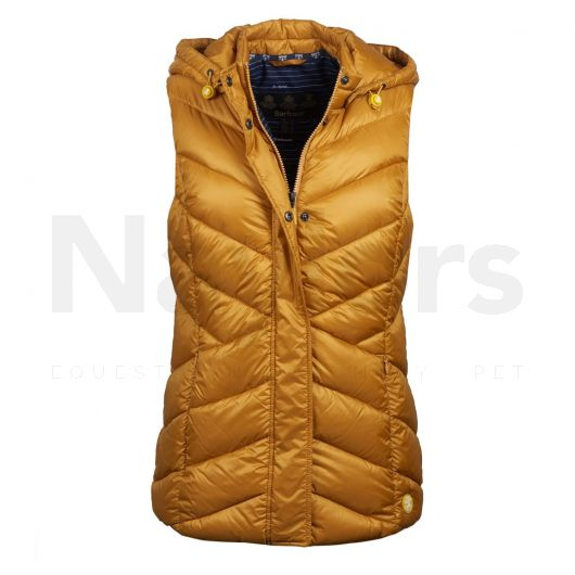 Barbour Ladies Seaward Gilet Canary Yellow