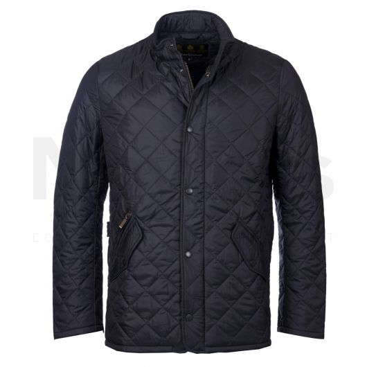 Barbour Mens Flyweight Chelsea Quilted Jacket Navy