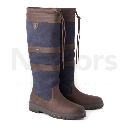 Dubarry Galway Country Boots Navy / Brown