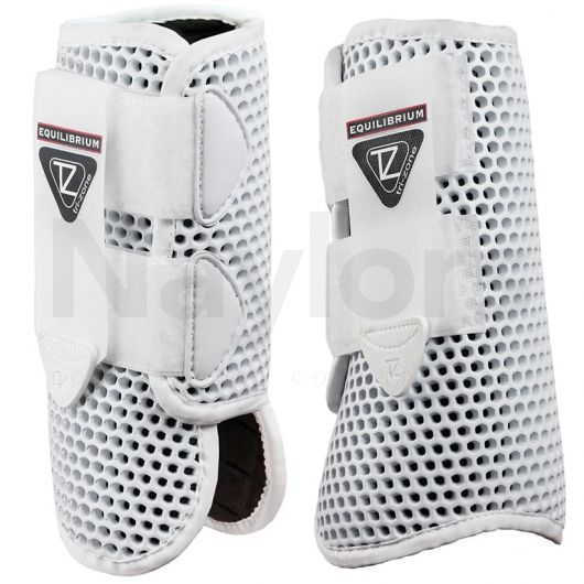 Equilibrium Tri-Zone All Sport Brushing Boots White