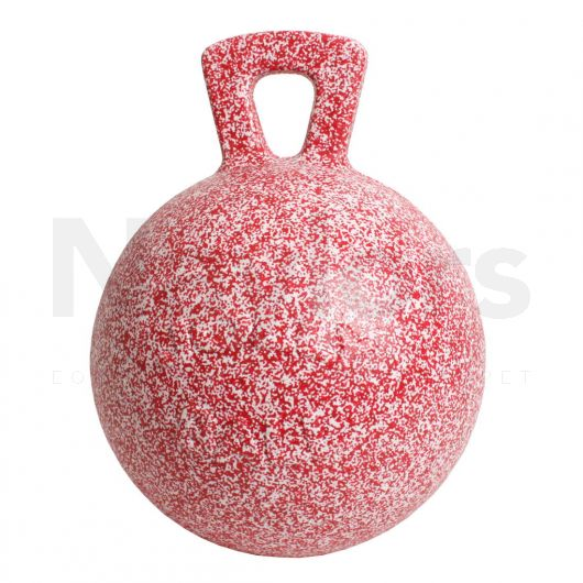Horsemen's Pride Inc Jolly Ball Peppermint Scented Red/White Speckle