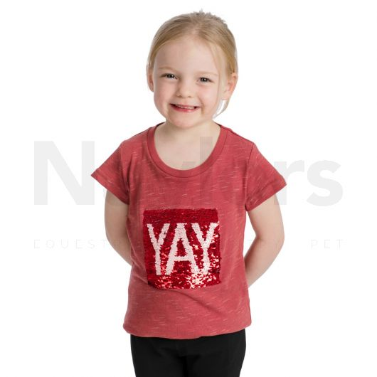 Horseware® Girls Novelty Tee Rose