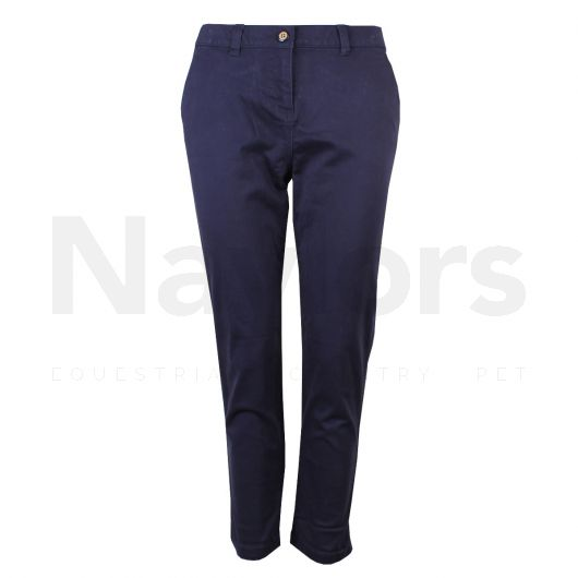 Joules Ladies Hesford Crop Chinos French Navy