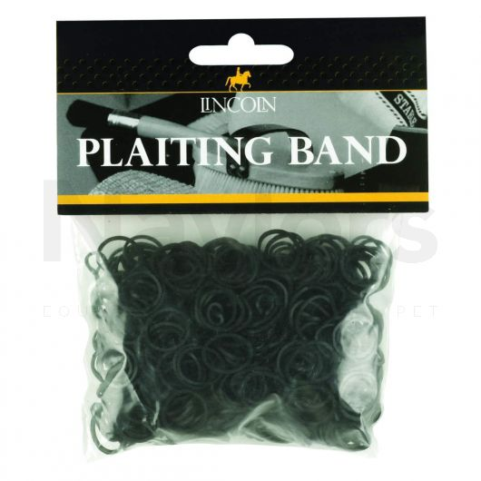Lincoln Plaiting Bands Bag Black