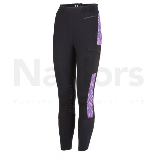 Noble Outfitters Ladies Balance Tights Grape