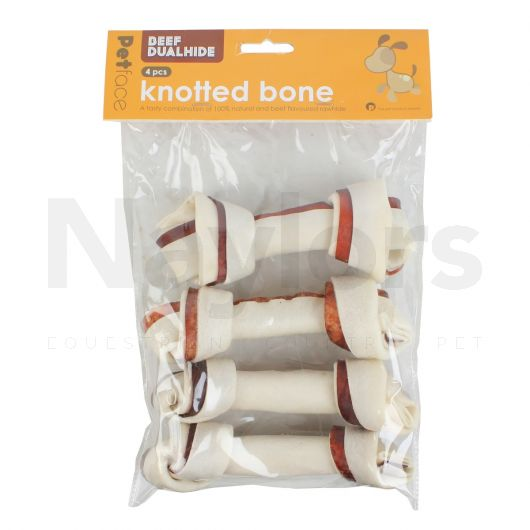Petface® Dogs Beef Knotted Bone