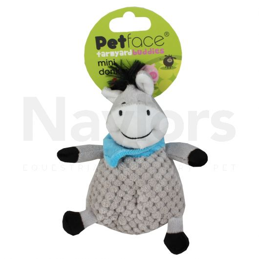 Petface Farmyard Buddies Mini Donkey