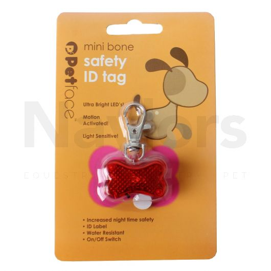Petface® Outdoor Paws Bone ID Safety Tag