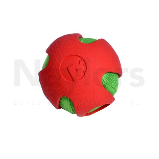 Petface® Toyz Crinkle Ball Red/Green
