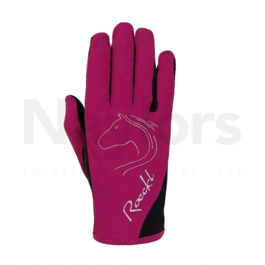 Roeckl® Kids Tryon Gloves Berry