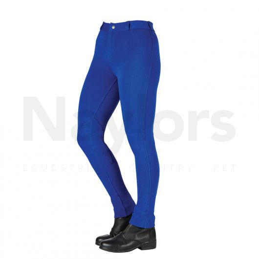 Saxon Ladies Warm Up II Jodhpurs Blue