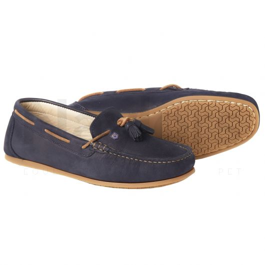 Dubarry Ladies Jamaica Deck Shoes Navy