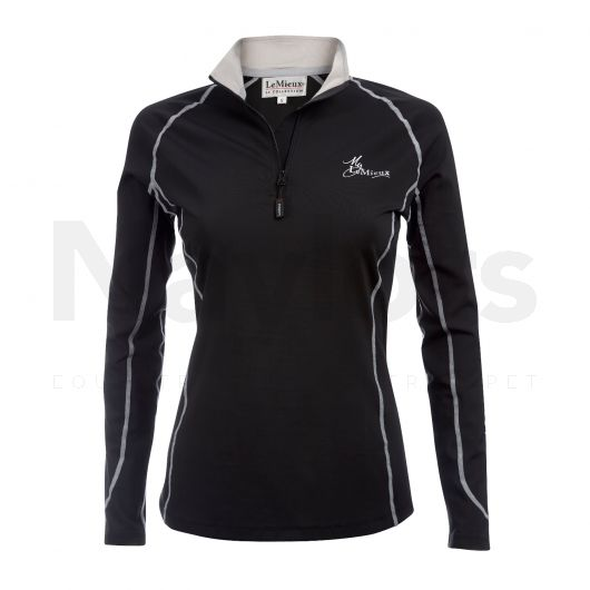 My LeMieux Ladies Base Layer Black/Grey