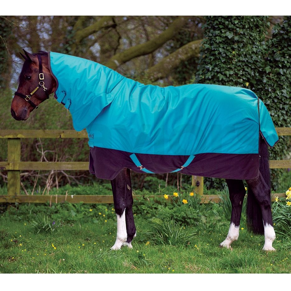 100g Lightweight Combo Neck Turnout Rug