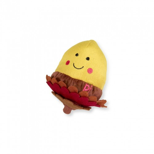 Petface Ally Acorn Toy Yellow