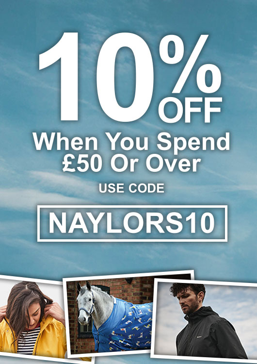 10% off when you spend £50+ 1