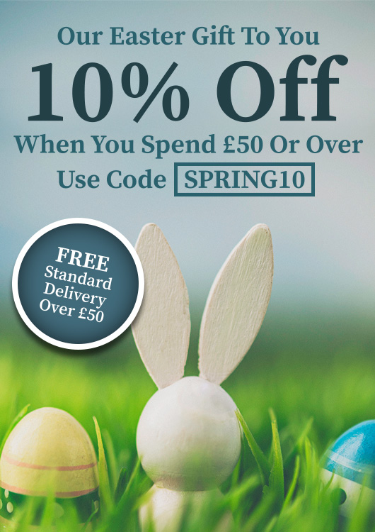 Easter Gift - 10% off spend £50+
