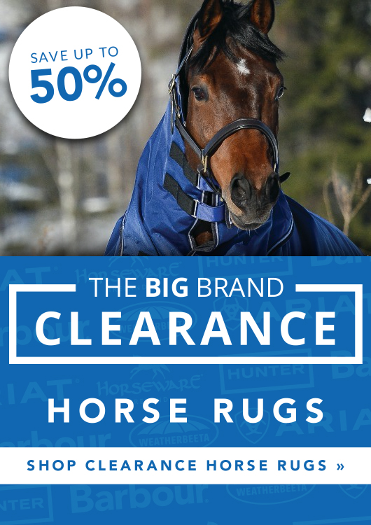 Big Brand Clearance Horse Rugs - Up To 50% Off