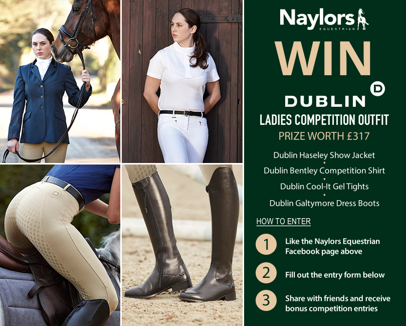 Win A Complete Ladies Dublin Competition Outfit