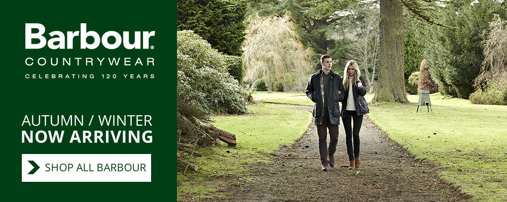 New Barbour Autumn Winter Collection 2014 Now Arriving