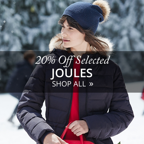 20% Off Selected Joules - Shop All