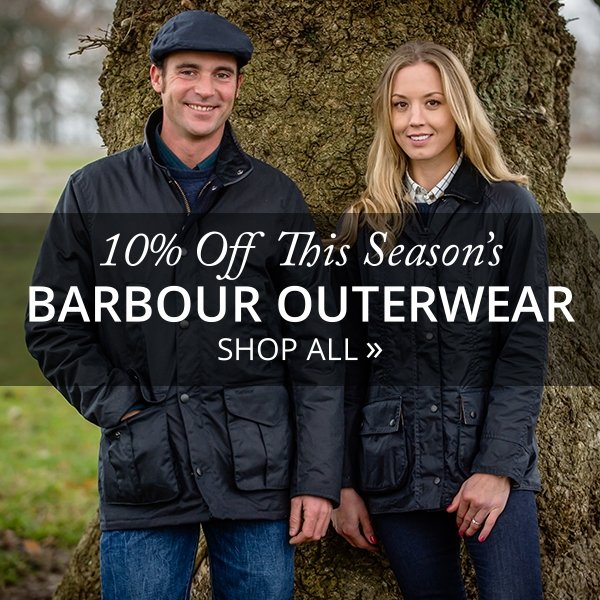 10% Off Barbour Outwear - Shop All