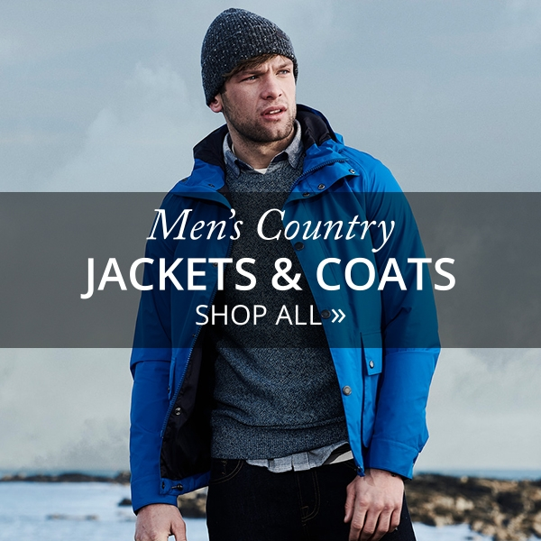 Men's Country Jackets and Coats - Shop Now
