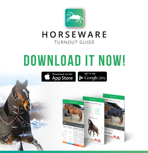 Horseware New Turnout Guide App - Find Out More & Download Here