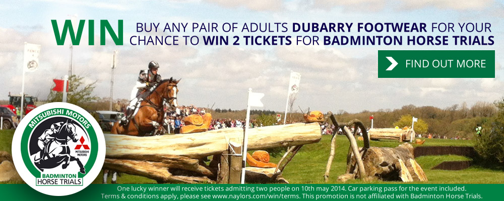 Win tickets to Badminton Horse Trials 2014
