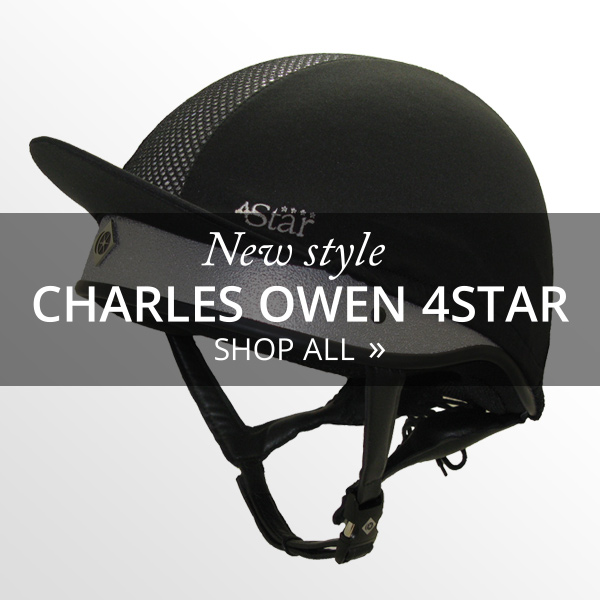 New product - Charles Owen 4star Jockey Skull